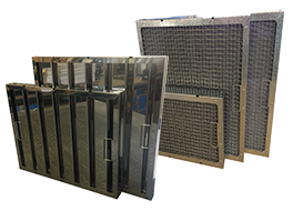 Kitchen Canopy Grease Filters