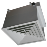 hepa filter terminal housing