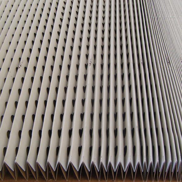 spray booth filter cardboard concertina binks bullows