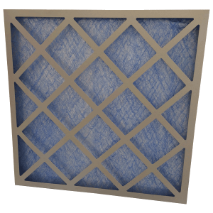 glass fibre panel air filter