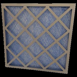 glass fibre panel air filter