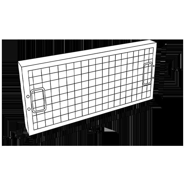 Mesh Grease Filters G2 To En779 2012 Airclean